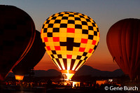 White Sands Hot Air Balloon Festival Night Glow 02